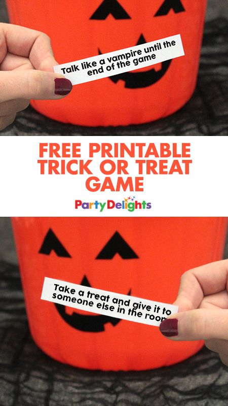 Keep your little ghosts and ghouls entertained with our free printable trick or treat game! A fun Halloween game that kids will love and will guarantee a few laughs. Play this Halloween party game on 31st October or play it in the weeks leading up to Halloween.