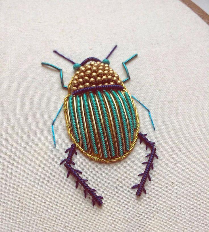 Les Insectes brodés de Humayrah Bint Altaf  (1)
