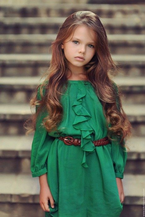 ♥: Little Girls, Fashion, Awkward Moments, Style, Beautiful, Daughters, Kids, Girls Hair, Green Dresses