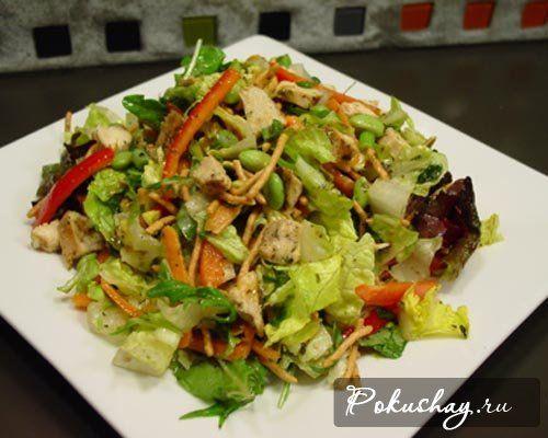 Салат слоями с кукурузой и крабовыми палочками рецепт