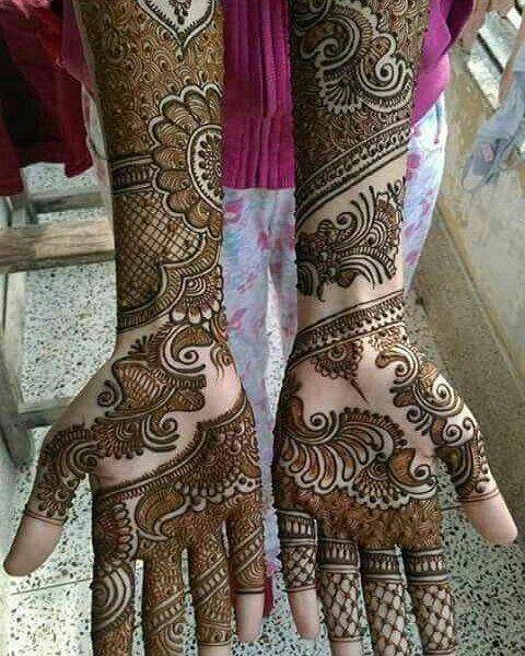 Bridal Mehndi Vancouver Bc : Love this bridal henna design hennaart mehndi