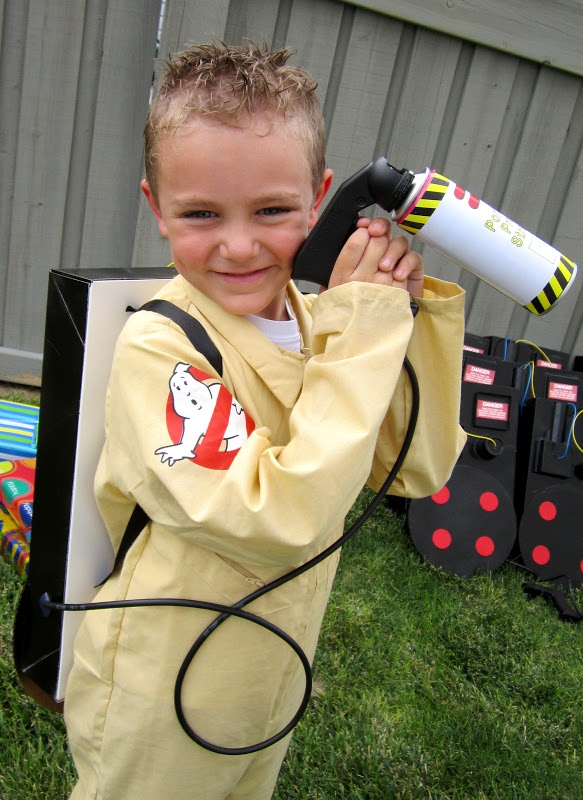 best Ghostbusters Party Ideas ever- food, decor, favors, activities, crafts, costumes, everything... Sweeten Your Day Events