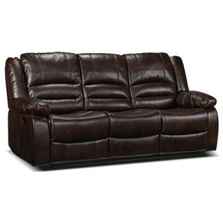 Brooksdale Sofa inclinable – brun foncé