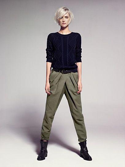 Sweater torso cotton – Femme
