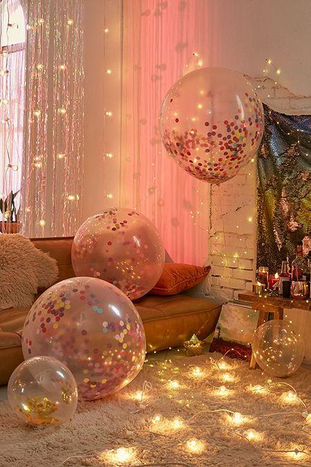 Ginger Ray Jumbo Rainbow Confetti Balloon Set