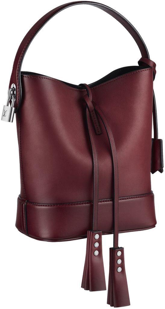 Louis Vuitton NN14 Cuir Nuance PM Rubis
