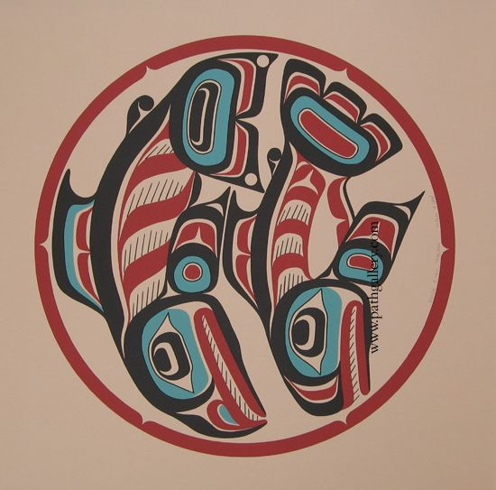 Haida Tribe Art | Here are some student pieces:
