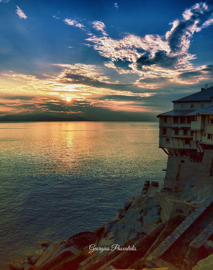 MOUNT ATHOS... GREECE.....