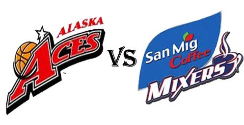 Watch PBA 2012-2013 Alaska Aces vs San Mig Coffee Live Streaming