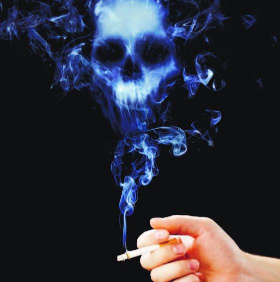 Médico familiar, coordinadora residencia de Medicina Familiar del Hospital General Plaza de la Salud Pensar que, al no ser fumadores, no corremos el riesgo