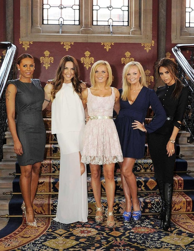 Spice Girls 2012 reunion. My childhood in a nutshell.