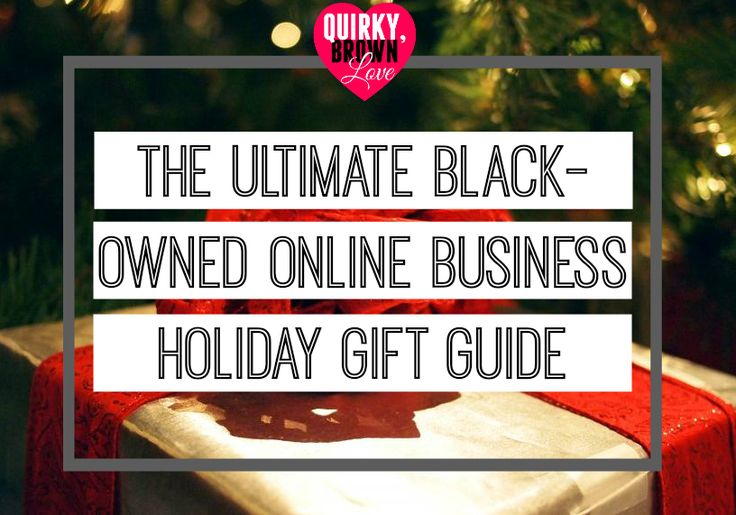 Looking to support Black-owned businesses? Well for this holiday season, I have taken out a lot of the dirty work for you by creating The Ultimate Black-Owned Online Business Holiday Gift Guide (USA).