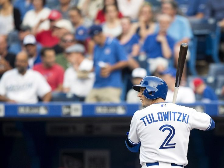 troy tulowitzki blue jays | Troy Tulowitzki donned a Blue Jays uniform for the first time and ...