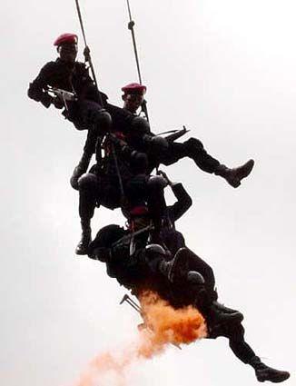 Indonesian Marines DENJAKA stabo.