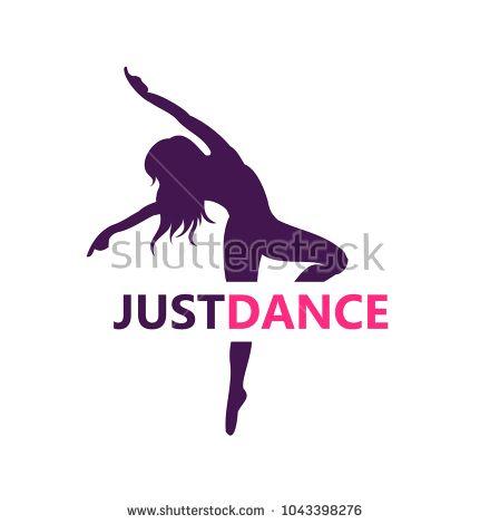 5cd45fd7c logo, dance, vector, icon, silhouette, fitness, woman, dancer ...