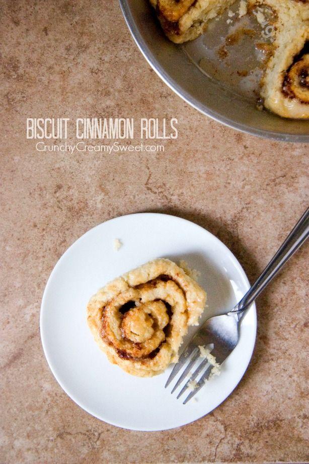 Biscuit Cinnamon Rolls Recipe