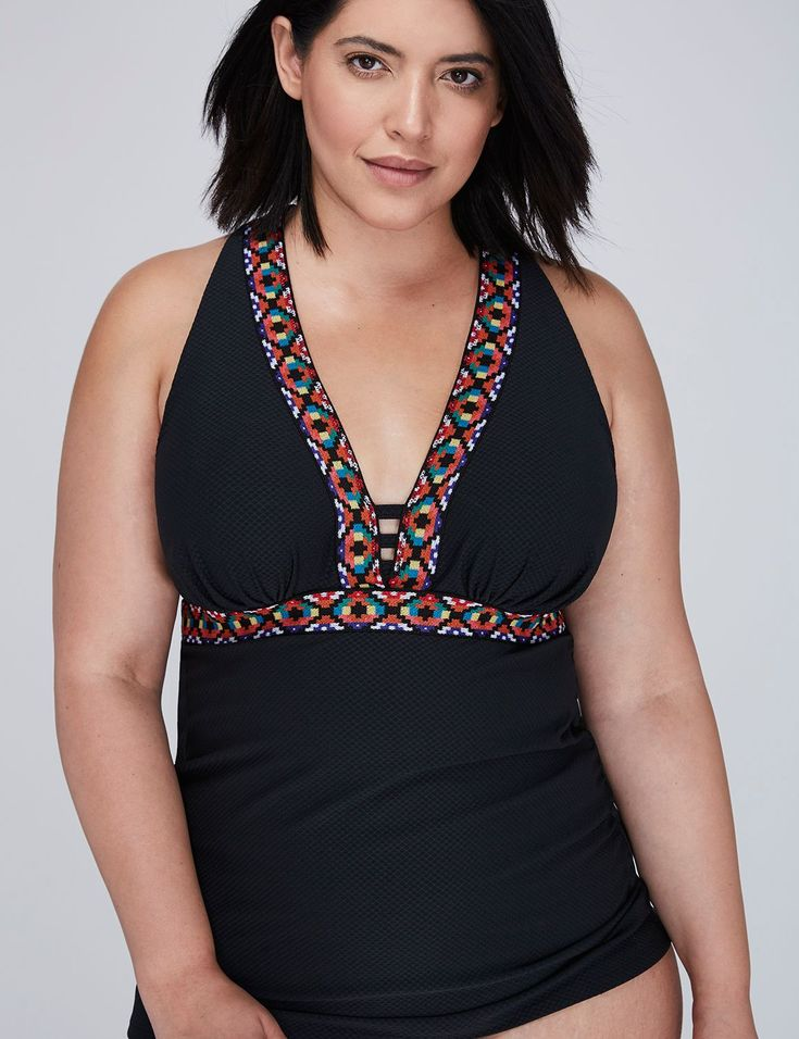 52 best think summer images on pinterest lane bryant for Swim shirt with built in bra
