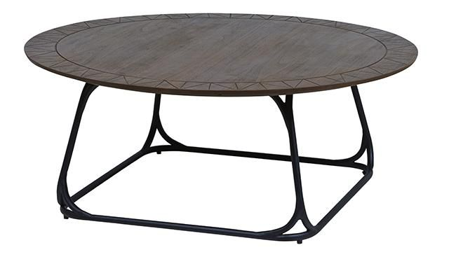 GlobeWest - Scribe Round Coffee Table