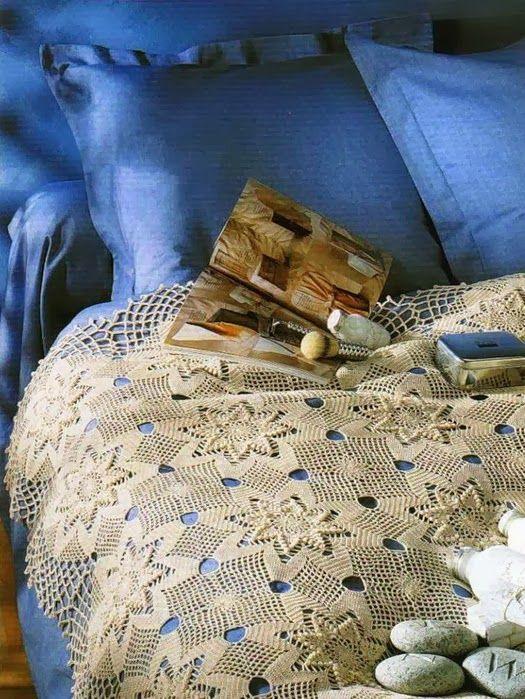 gorgeous Crochet Bedspread!!
