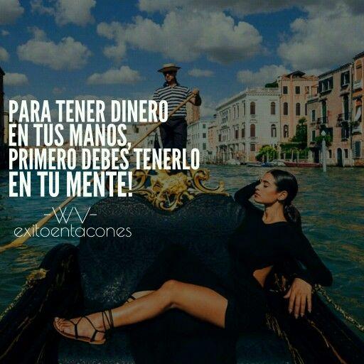 Todo debe pasar por TU MENTE!!!   -WV-  Síguenos por Instagram @exitoentaconeswv   #exitoentacones #frase #motivacion #atraccion #declara #cree #yaestahecho #mujerentrepreneur #boss #construyendounImperio