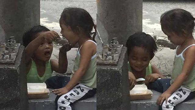 Pasangan Berikan Sebungkus Makanan Kepada Budak Jalanan Apa Yang Budak Jalanan Ini Lakukan Selepas Itu Buat Netizen Tersentuh   Kadang-kadang kita makan di gerai pasti ada penggemis datang meminta wang ada yang menjual tisu dengan pelbagai kes dibuktikan