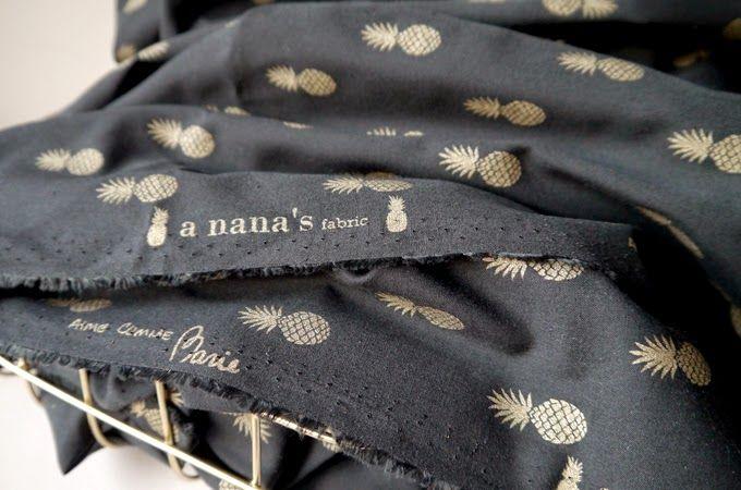 """aimecommemarie: Tissu """"a nana's fabric"""""""