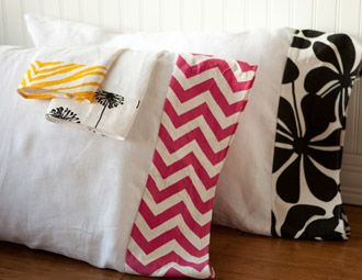 Add a pop of pizazz to your home with the lively prints and eye-catching colors of La Mode Couture. Switch up the spare room with pink chevron pillow cases, bring chic style to your bathroom with bold fleur-de-lis guest towels, and serve Cape Codders with nautically-inspired cocktail napkins.