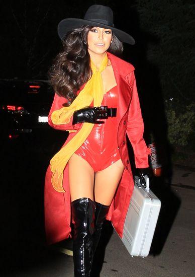 Naya Rivera As Sexy Carmen Sandiego