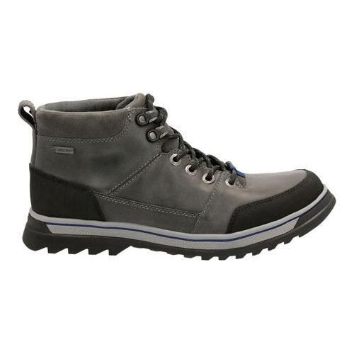 Men's Clarks Ripway Top GORE-TEX Waterproof Boot Grey Leather