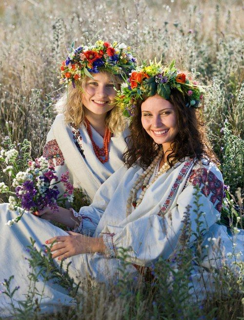 Slavic women  folk festival