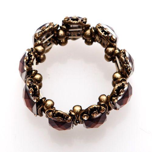 Aurea Brunneis Gold Brown Bracelet