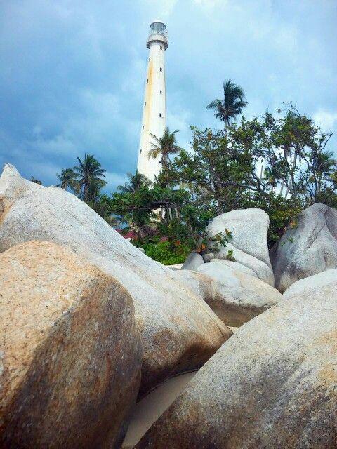 Mercusuar at Pulau Lengkuas, Belitung