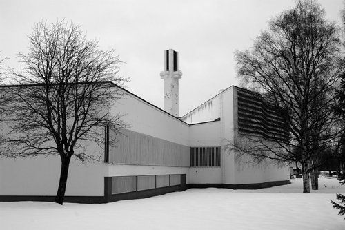 Aalto center, Seinäjoki, designed by Alvar Aalto (1898-1976)      by Andy Malengier