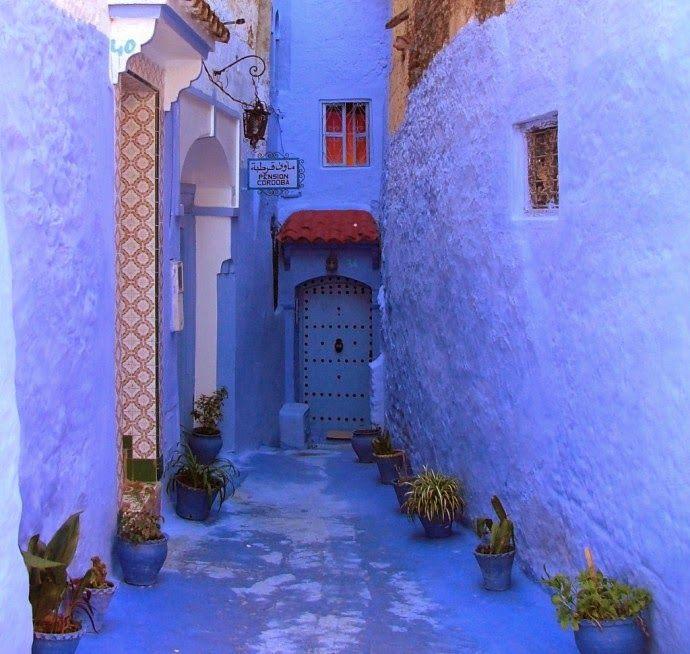 je veux magazine: La città azzurra