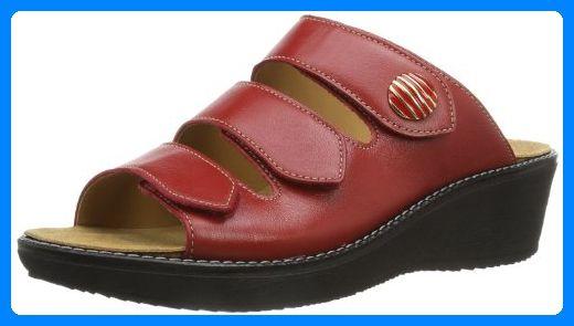 Ganter Gracia Weite G 7-209227-41000, Damen Clogs & Pantoletten, Rot (rosso 4100), EU 41 (UK 7.5) - Clogs für frauen (*Partner-Link)