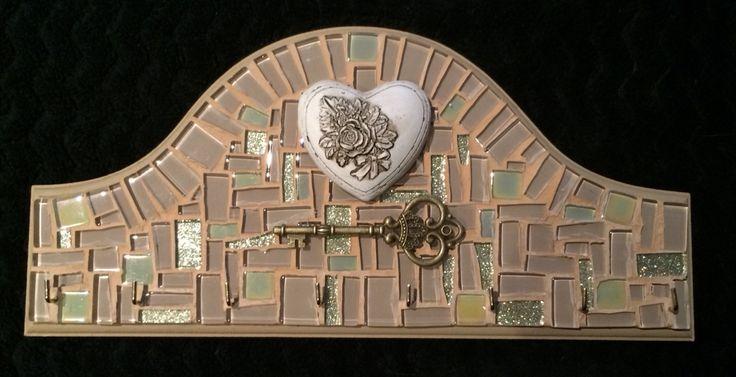 Mosaic Key Holder, December 2015