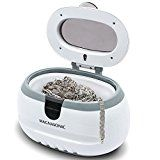 Magnasonic Professional Ultrasonic Polishing Jewelry Cleaner Machine for Cleaning Eyeglasses Watches Rings Necklaces Coins Razors Dentures Combs Tools Parts Instruments (CD2800)