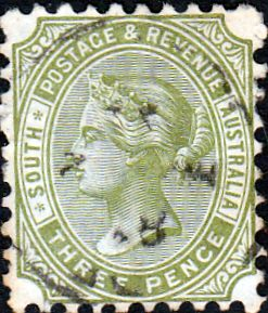 South Australia 1883 Queen Victoria SG 183 Fine Used SG 183 Scott 76 Other british Commonwealth stamps here