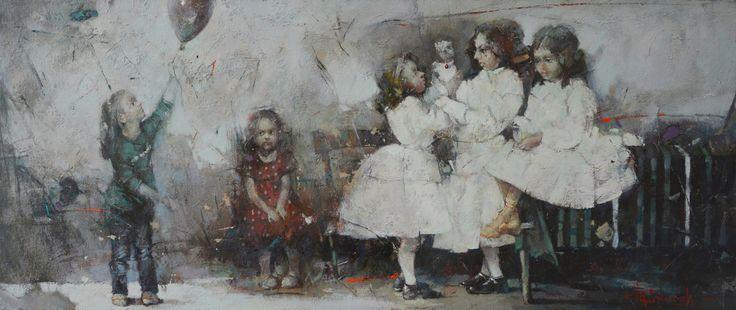 Alternatywna rzeczywistość. Wystawa malarstwa Wacława Sporskiego i Alexa Sporskiego/syna