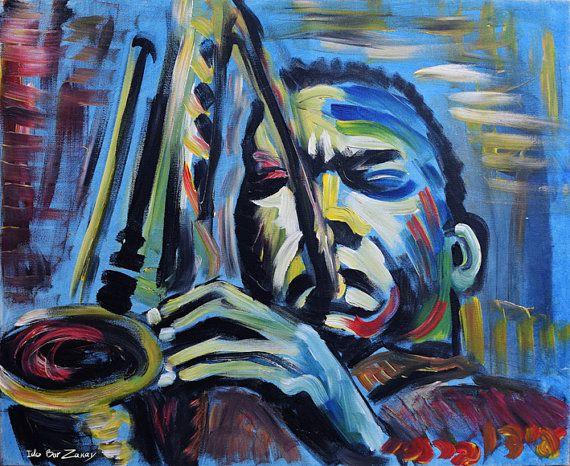 John coltrane, blue train. The jazz saxophonist