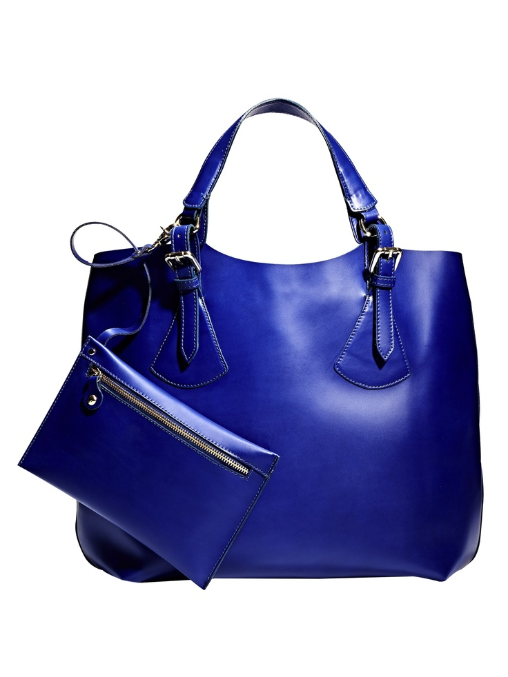 This royal blue handbag from @Marshalls is sure to make a statement! #TheGifter