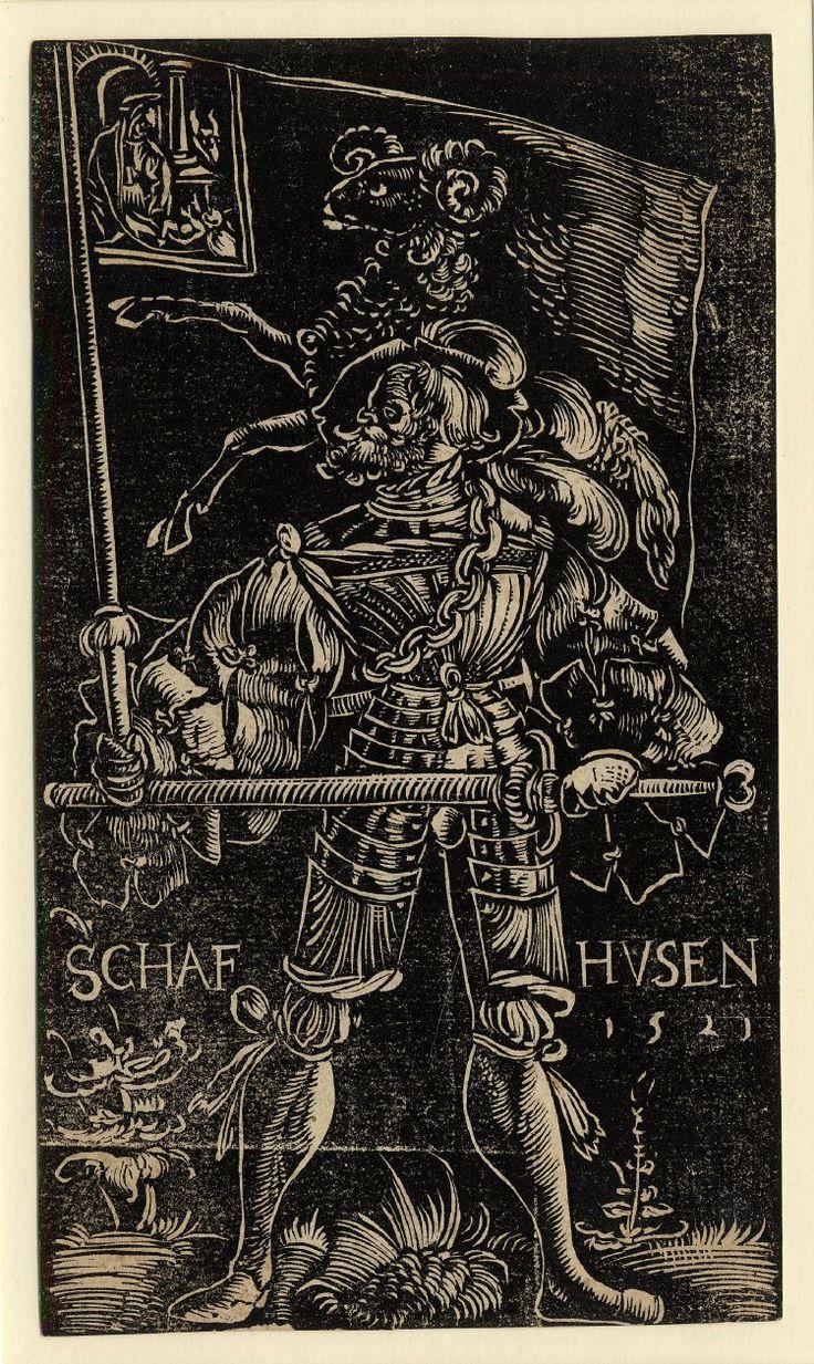 Standard Bearer of Schaffhausen by Urs Graf, 1521