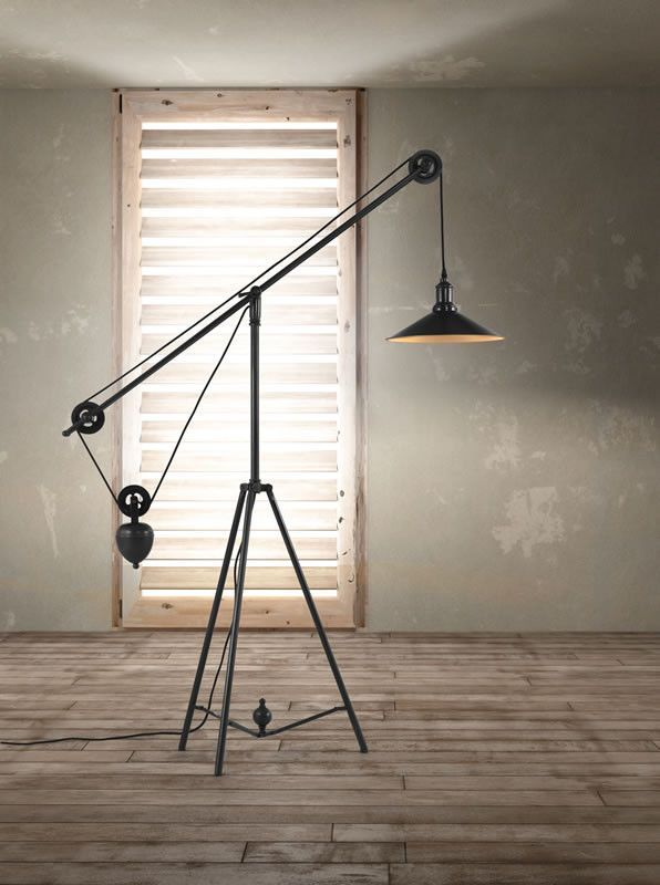 Zuo Jasper Floor Lamp 2019 Lighting Industrial Floor