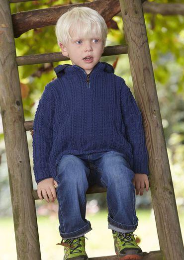 Kinderen Trui Troyer-Style, S9052 |  Schachenmayr