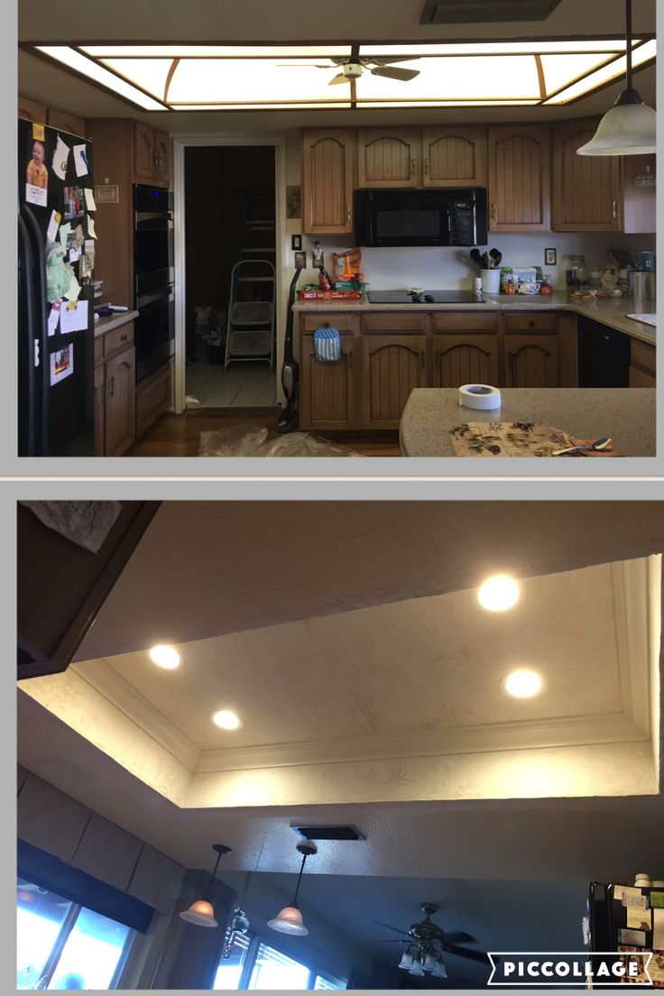 158 best az recessed lighting installations images on pinterest az recessed lighting kitchen transformation demo led lighting drywall mud texture mozeypictures Image collections