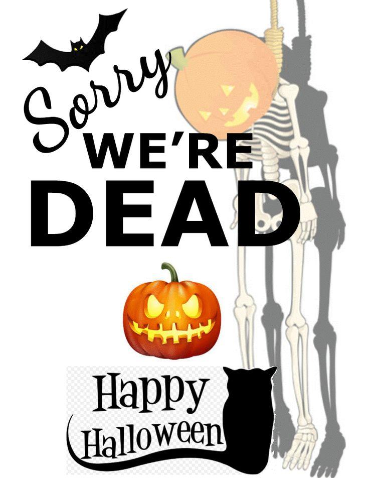 0fb0099f4b7c10f0dd4b748bfcb515cf candy signs halloween signs