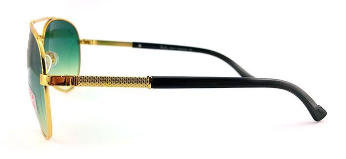 Солнцезащитные очки Ray Ban Aviator (зеленый градиент)