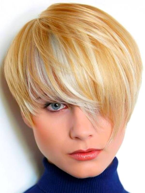 nice 25 Cute And Short Hairstyles for Round Faces - The Xerxes