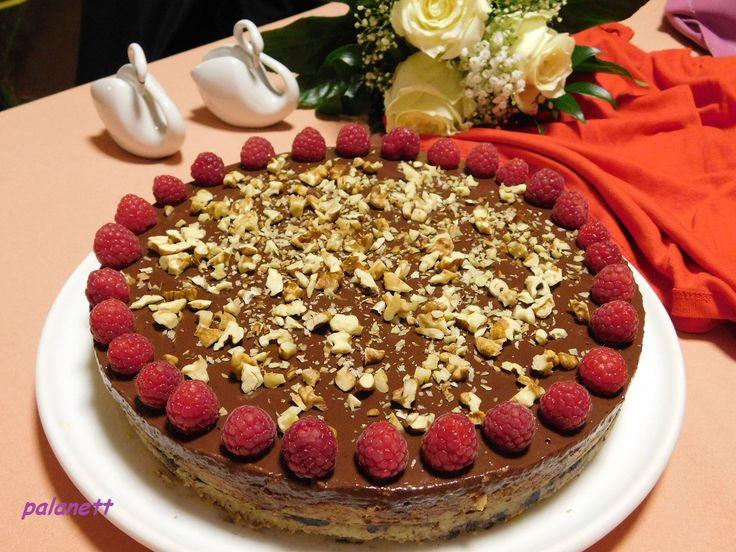 sütés nélküli karamellás csokitorta