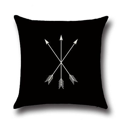 New Arrow Printing Sofa Bed Home Decoration Festival Pillow Case Cushion Cover